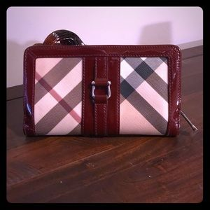 Burberry Nova Check Long Continental Wallet
